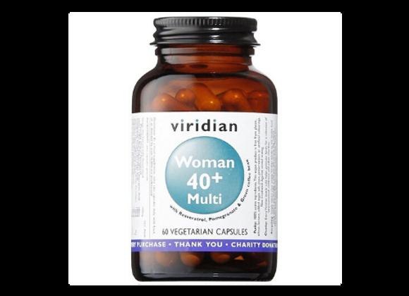 Woman 40+ Multivitamin Viridian 60 capsules
