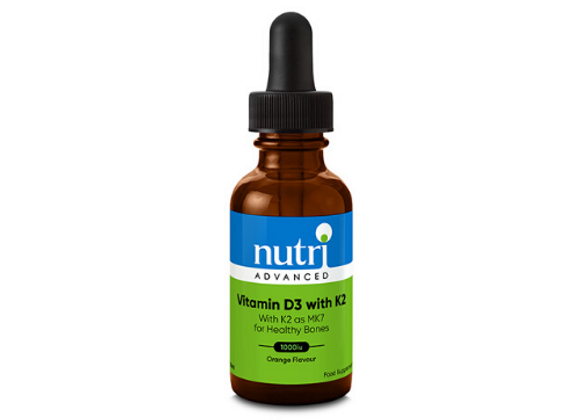 Vitamin D3 with K2 30ml