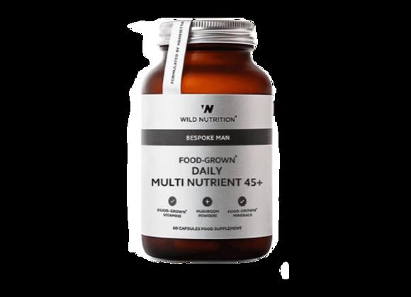 Men's 45+ Multivitamin Wild Nutrition 60 capsules