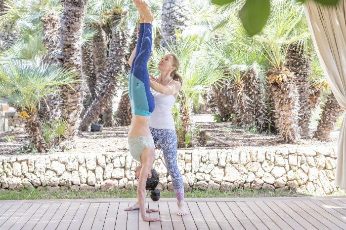 Nutrition holistic yoga holiday in Mallorca, Spain
