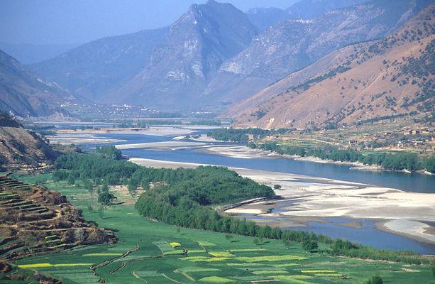 Golden Sand River, Yangtze, Beyond the Clouds