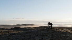 Filming above the clouds on the Tibetan Plateau