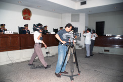 Acquiring permission to film in Shanghai's courts took us over a year
