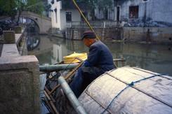 A beautiful canal village close to Suzhou