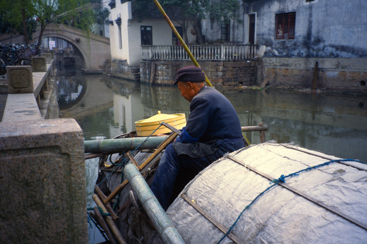 A beautiful canal village close to Suzhou