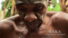 Babu mourning little Akade's death