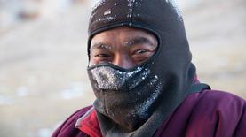 Zhou Jia at minus 30 centigrade
