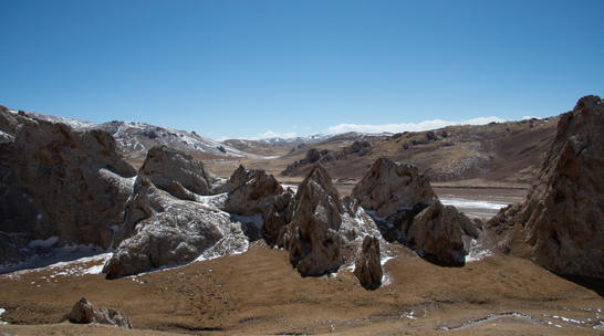 Snow Leopard country close to the Yanzhangguo gorge