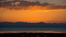 Sunset over Kekexili, Tibetan Plateau