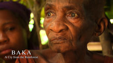 Ndende mourning the death of her great grandson, Akade
