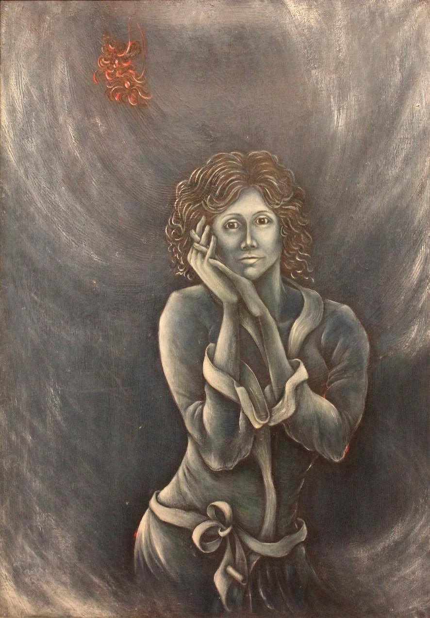 Mujer bata