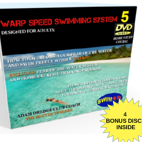 WARP SPEED SWIMMING FULL SYSTEM + BONUS PACKAGE