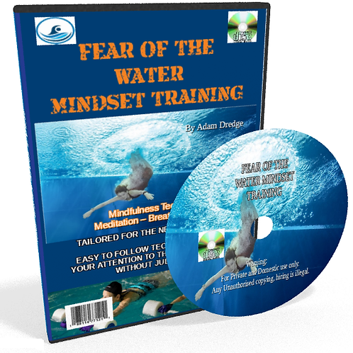 FEAR OF THE WATER MINDSET TRAINING CD