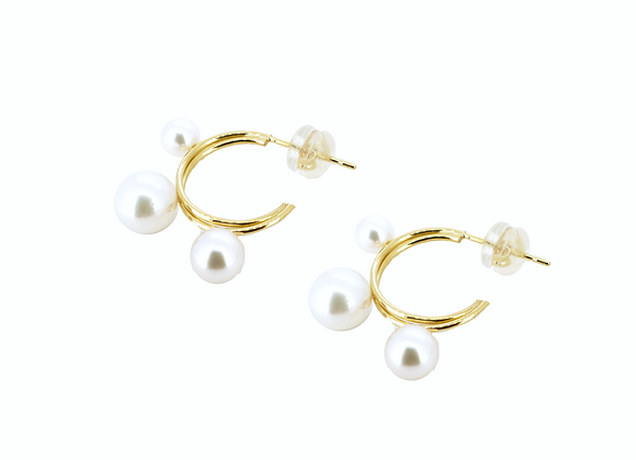 AKOYA PEARL 18K EARRINGS