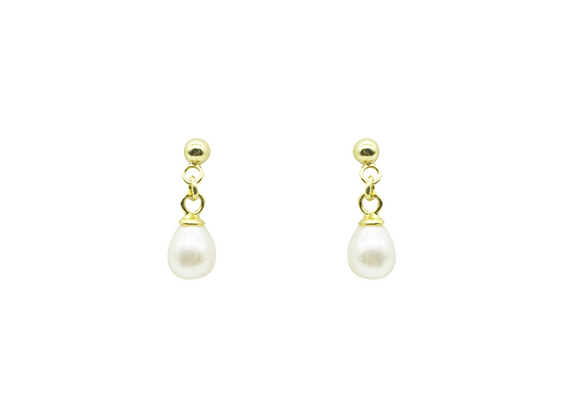 DROPLET PEARL EARRINGS