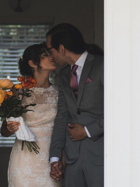 Jaclyn and Christopher's Backyard Wedding in Sacramento, CA