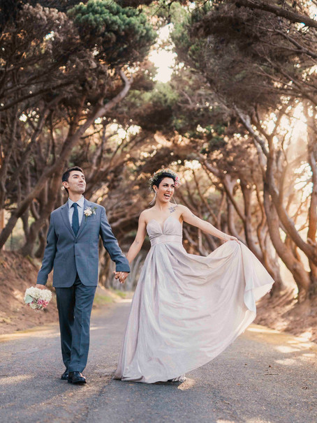 Maryam and Amad's Anniversary Shoot in Mendocino, CA