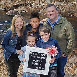 Young Family Debt-Free Photos