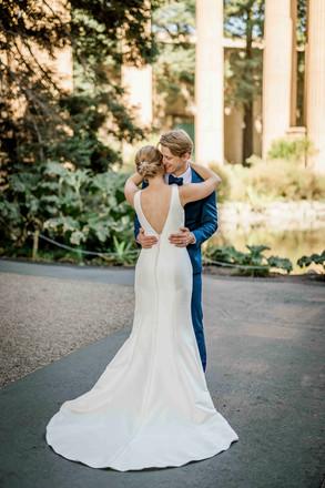 Brandi Rollins Photo Covid Wedding Palac