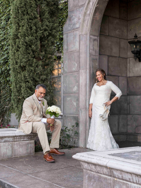 Backyard Covid Wedding, Auburn, CA