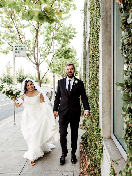 "Catholic ""In Covid Times"" Wedding, Oakland"