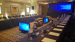 LED Screens | TV monitors | Conference Equipment rental | EventsOnWheels.com