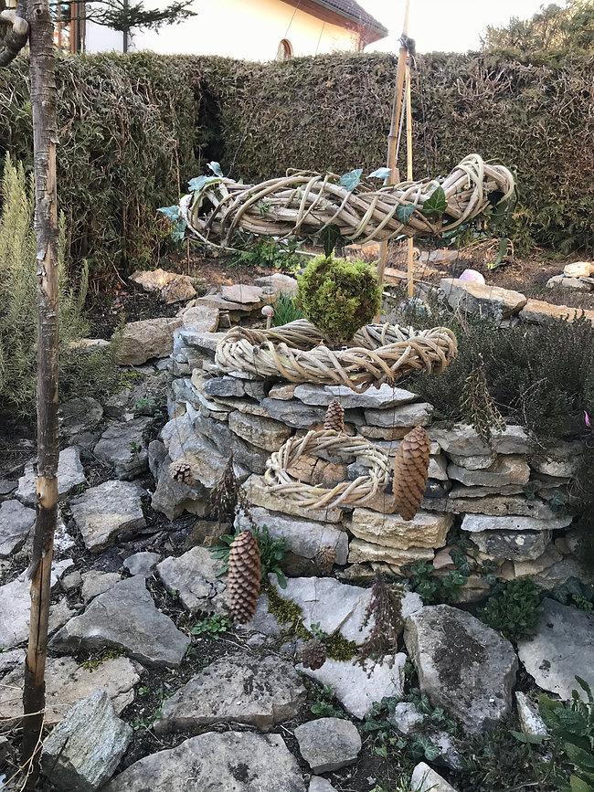 Naturdekoratione für Drinnen und Draussen