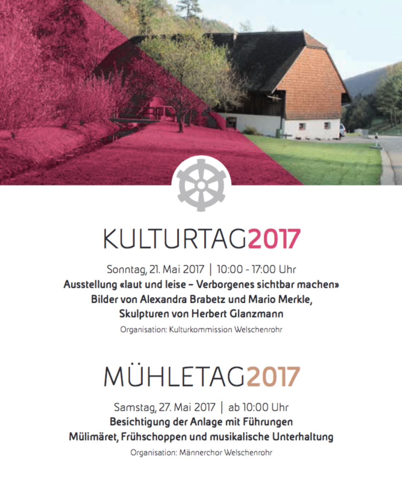 Kulturtag / Mühletag