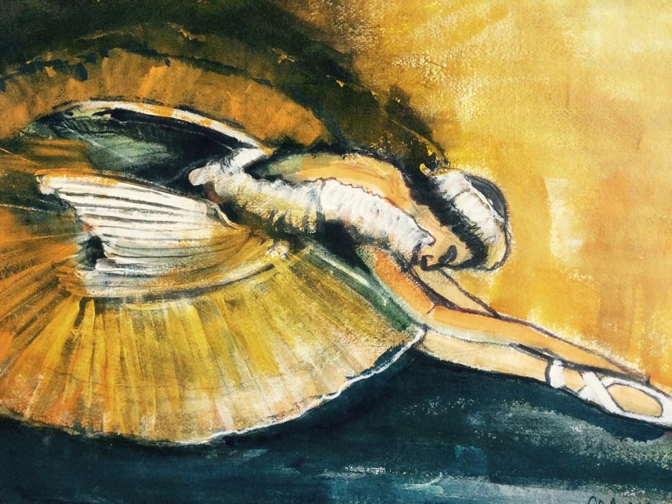 Ballerina's Schwan