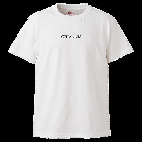 GetSupportProjectコラボ Ibuki Yoshida応援TシャツⅠ White x Black