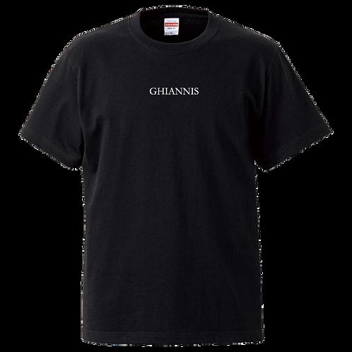 GetSupportProjectコラボ Ibuki Yoshida応援TシャツⅠ Black x White