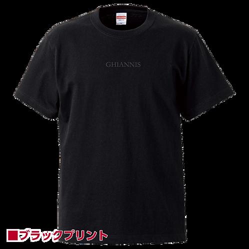 GetSupportProjectコラボ Ibuki Yoshida応援TシャツⅠ Black x Black