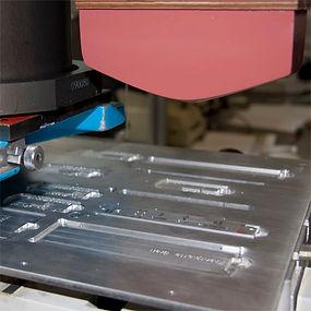 Mechanik-Tampondruck-Hauseigene-Druckvor
