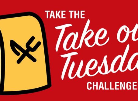 Take-Out Tuesday Challenge