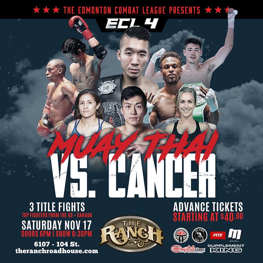ECL 4: Muay Thai Versus Cancer (1)