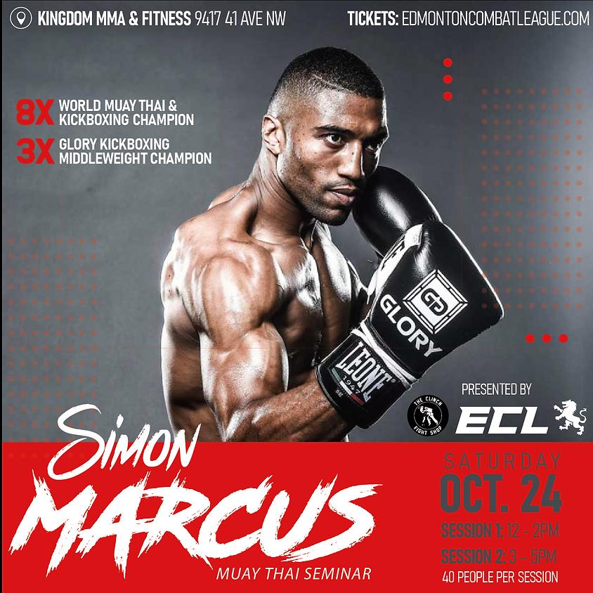 SIMON MARCUS MUAY THAI SEMINAR & UFC 254 Viewing Party