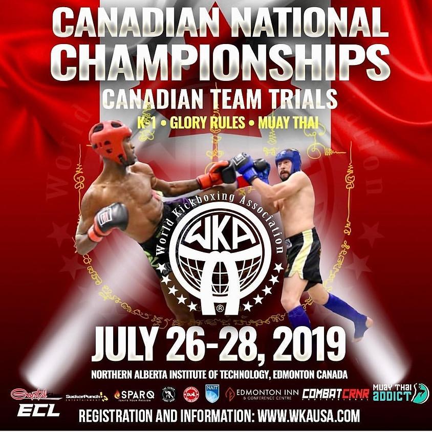 2019 WKA Canadian Nationals