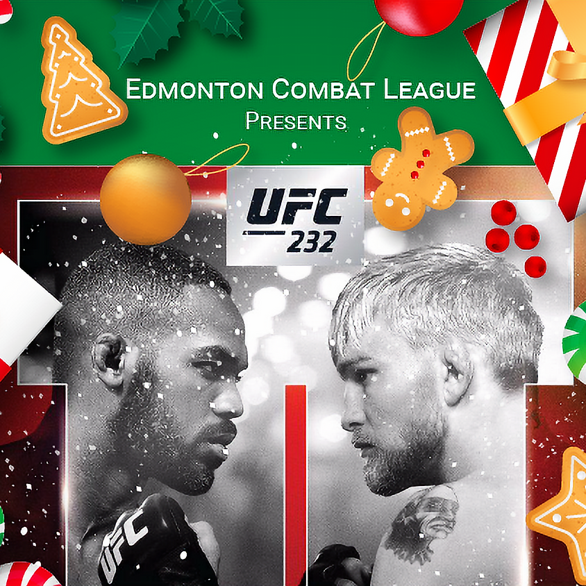 ECL Christmas Party & UFC 232 Viewing Party