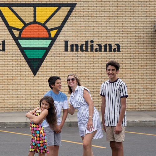 Kentland Indiana - Family by Mural