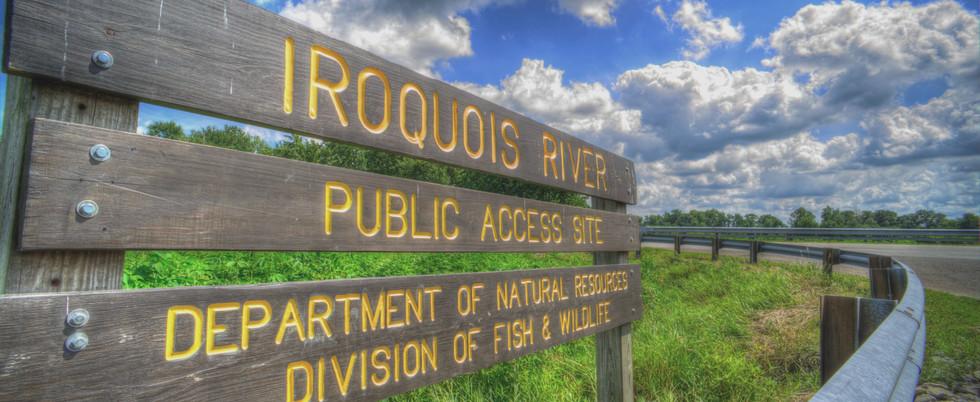 Iroquois River Public Access Site