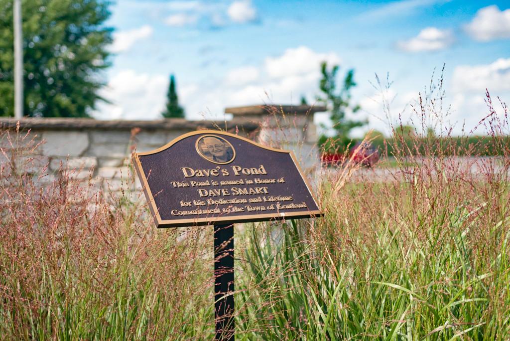 Dave's Pond Marker at Cast Park