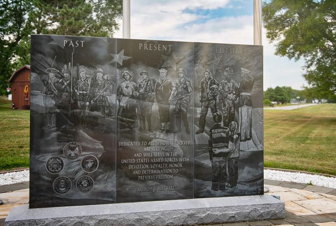 Armed Forces Memorial at Lake Twshp Park