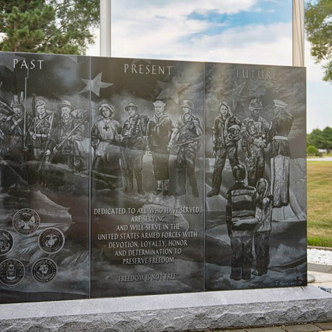 Armed Forces Memorial at Lake Township Park