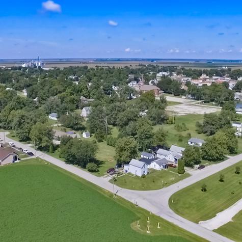 Goodland Indiana - Aerial