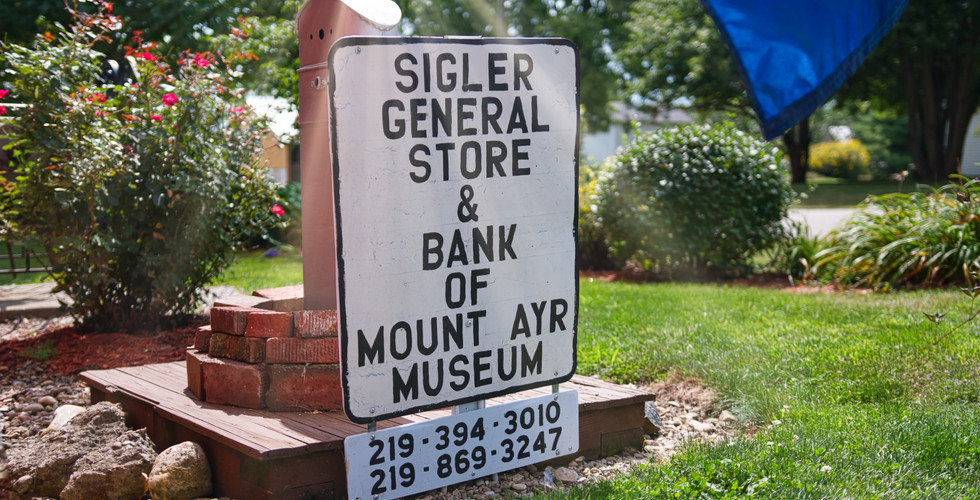 Siegler General Store & Bank of Mounty Ayr Museum