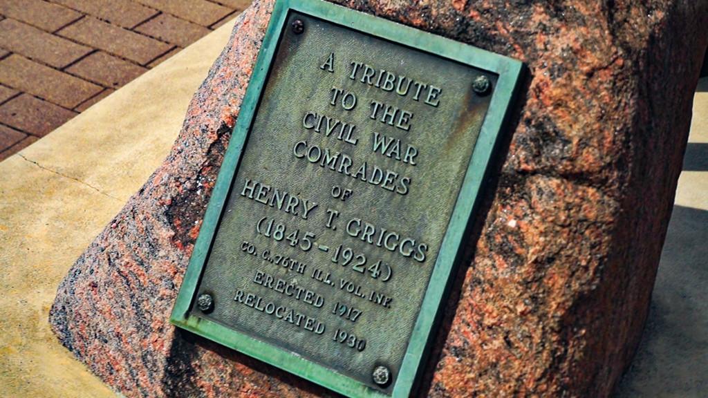 Civil War Tribute Marker