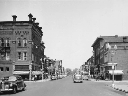 SECOND STREET, LOOKING NORTH, DECATUR