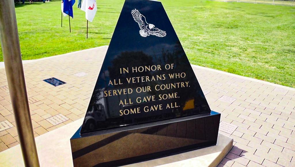 Veteran's / POW Memorial at Foster Park