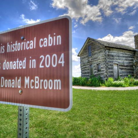Historic Newton Co Blann Cabin