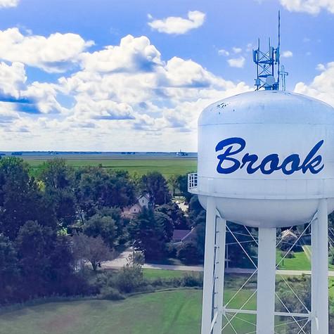 Brook Water Tower